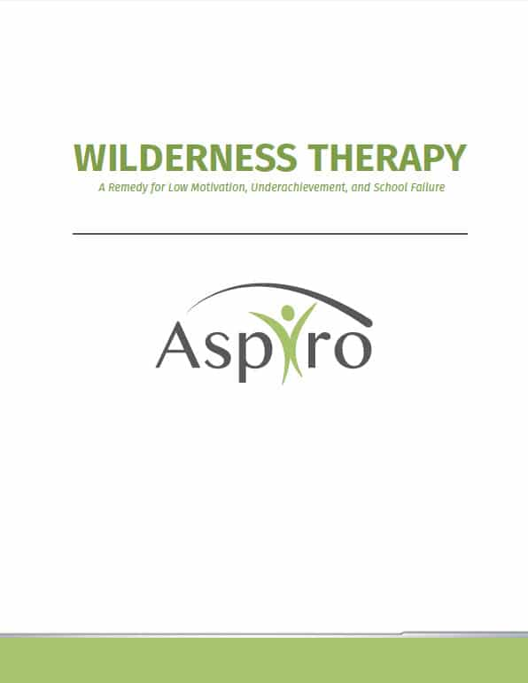 Free White Paper: Wilderness Therapy: A Remedy for Low Motivation, Underachievement, and School Failure| Aspiro Adventure Therapy
