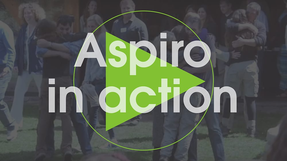 Aspiro in action video holding image