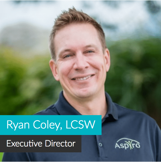 Ryan Coley, Executive Director at Aspiro Adventure Therapy