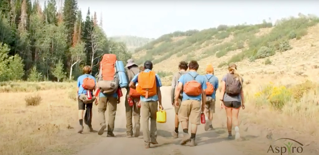 Adventure Therapy Activities - Backpacking | Aspiro Wilderness Adventure Therapy Program for Teenagers and Young Adults