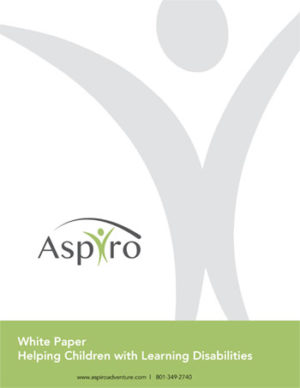 How to Navigate Learning Disabilities in Teenagers & Young Adults - A Whitepaper by Aspiro Adventure Therapy