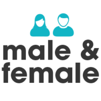 Who we help icon male and female